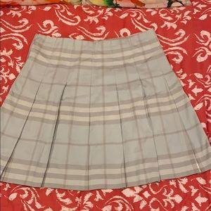 Burberry London pleated skirt